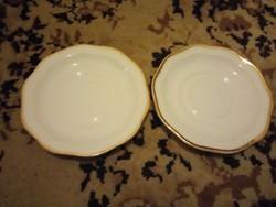 2 darab Csehszlovák  porcelán kávés csésze alátét !