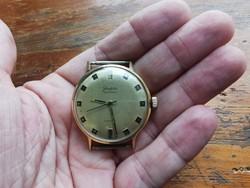 Glashütte Specimatic automata óra! 37 mm. Kn, Szépen működik! Tok hiba! Fotózva!