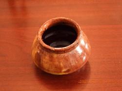 JÁK-i kerámia váza, virágtartó