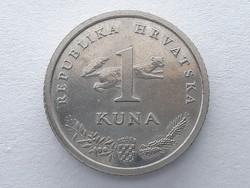 Horvátország 1 kuna 1995 - Horvát (Croatia) 1 kuna érme