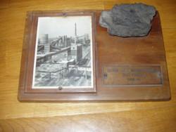 A Sztálin Vasmű Kokszolóművének első koksza 1956. VII. Sztálinváros Dunaújváros
