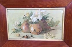 Sz. Pista – Körtés csendélet festménye – 38.