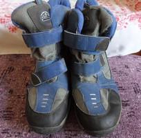 Gyerek téli bakancs, fiú / lány hótaposó (37, kék, szürke)