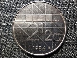 Hollandia Beatrix (1980-2013) 2 1/2 Gulden 1986 (id42324)