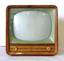 1D123 Antik faházas Munkácsy televízió készülék