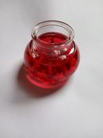 Mécses  piros színű  !