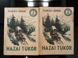 Tamási Áron : Hazai tükör l-ll. Antik könyv