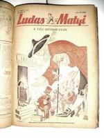 Ludas Matyi. 1956 TELJES Szatírikus hetilap. XII. évfolyam.