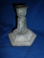 Antik spiáter petróleum lámpa talp