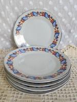 Jelzett, Zsolnay pajzspecsétes sütis tányérok ezüst szegéllyel