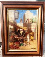 GERGELY IMRE 1868 - 1957 -Keleti piac-