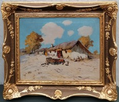 Németh György festmény