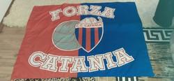 Forza Catania szurkolói zászló