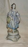 Ritka Herendi figurális lámpa test