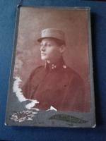RITKA ! Antik börtönőr  fotó (cabinet - portrait  ) Dunaszerdahelyi felvétel 1917-ből  fotó , kép,