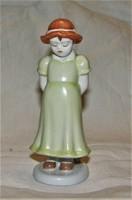 Ritka Aquincum porcelán figura
