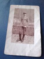 Kiry József  a Pilzeni laktanyában 1918.  - katona  fotó