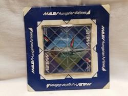 MALÉV reklámhordozó Rubik Ernő féle ügyességi játék