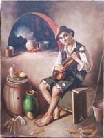 Szász István: Legény hegedűvel
