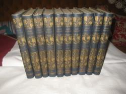 Magyar Remekírók Sorozat 1902   / Lampel R. /  10 kötet , szép állapot