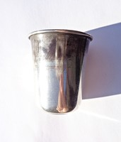 1858-os Orosz 800-as finomságú pohár