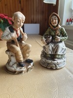 Idős házaspár, angol kerámia eladó!