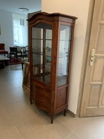 Bieder vitrin, antik restaurált!