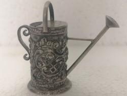 Antik gyűjteményi ezüst kanna