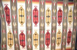 Torontáli gyapjú szőnyeg kelim nagyobb méretű