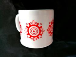 Zsolnay ritka, retró kormánykerekes csésze 5.
