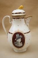 Bécsi porcelán kiöntő