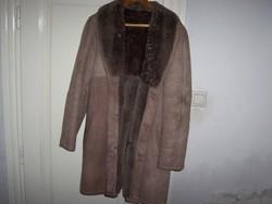 Elegáns irhabunda kabát