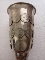 Ferencz József  érme ezűst kupa