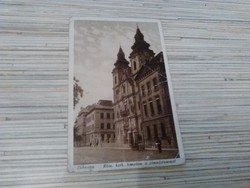 Antik képeslap. Debrecen- Római. Kat templom.