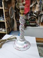 Herendi porcelán lámpa