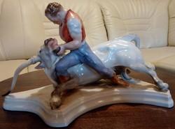 Herendi,Toldi bikával, hibátlan állapotban van.