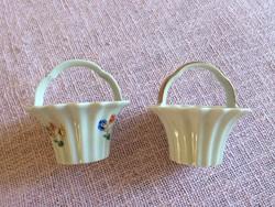Régi Thomas porcelán kosár