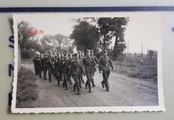 2 vh Német katonák menetelnek 6,5x9cm