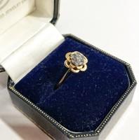 14k arany gyűrű- csodás kövekkel - 2.52g