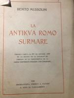 MUSSOLINI:La Antikva Romo Surmare / 1928