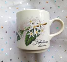 Villeroy&Boch kávé virágos bögre