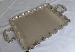 Antik ezüst füles tálca BÉCS 1851