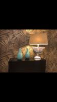 Asztali lámpa  textil