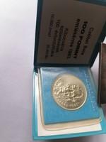 Czóbel Béla 100 Forint 1983 Banki   csomagilásvban