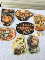 7 darab szakács recept könyv - füzet - retro - fagylalt szendvics bogrács Vianco - Ságvári Nyomda