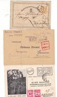 Három értékes postai dokumentum