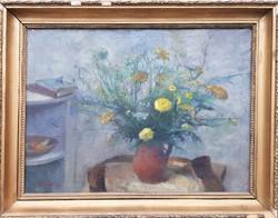 Szilvássy Margit 1955 / Virágcsendélet