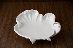 Herendi porcelán, barokk mintás asztalközép, jelzett, számozott