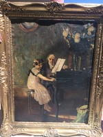 Jules-Alexis Meunier festmény
