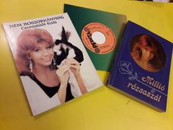Csongrádi Kata  2 db könyv + 1 kislemez